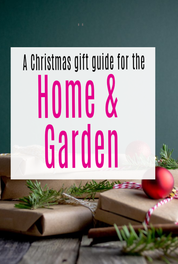 Pin Christmas Gift Guide for the Home a & Garden 2020.