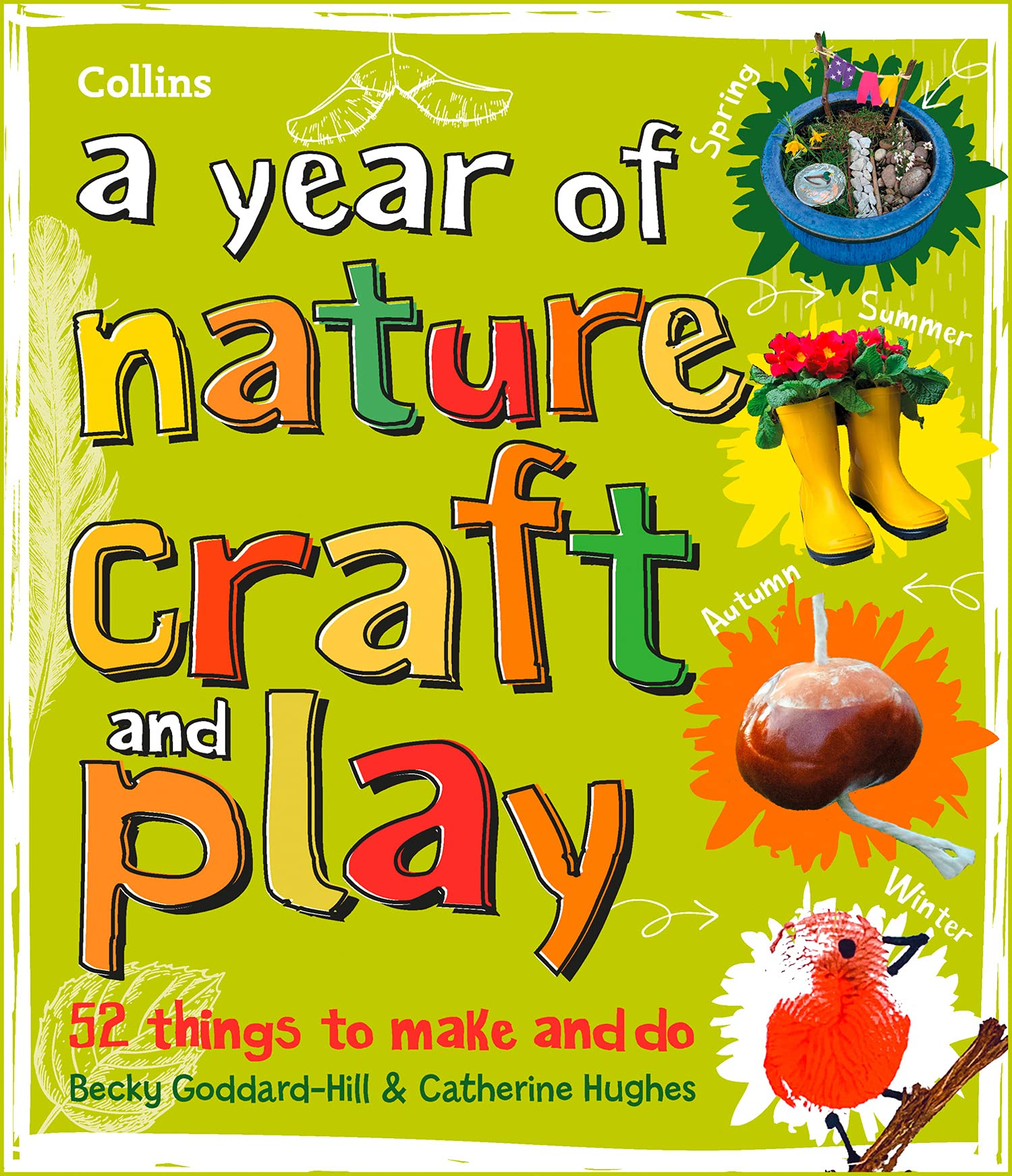 Why Gardening is Good for your Mental Health, Becky Goddard-Hill, nature crafts book