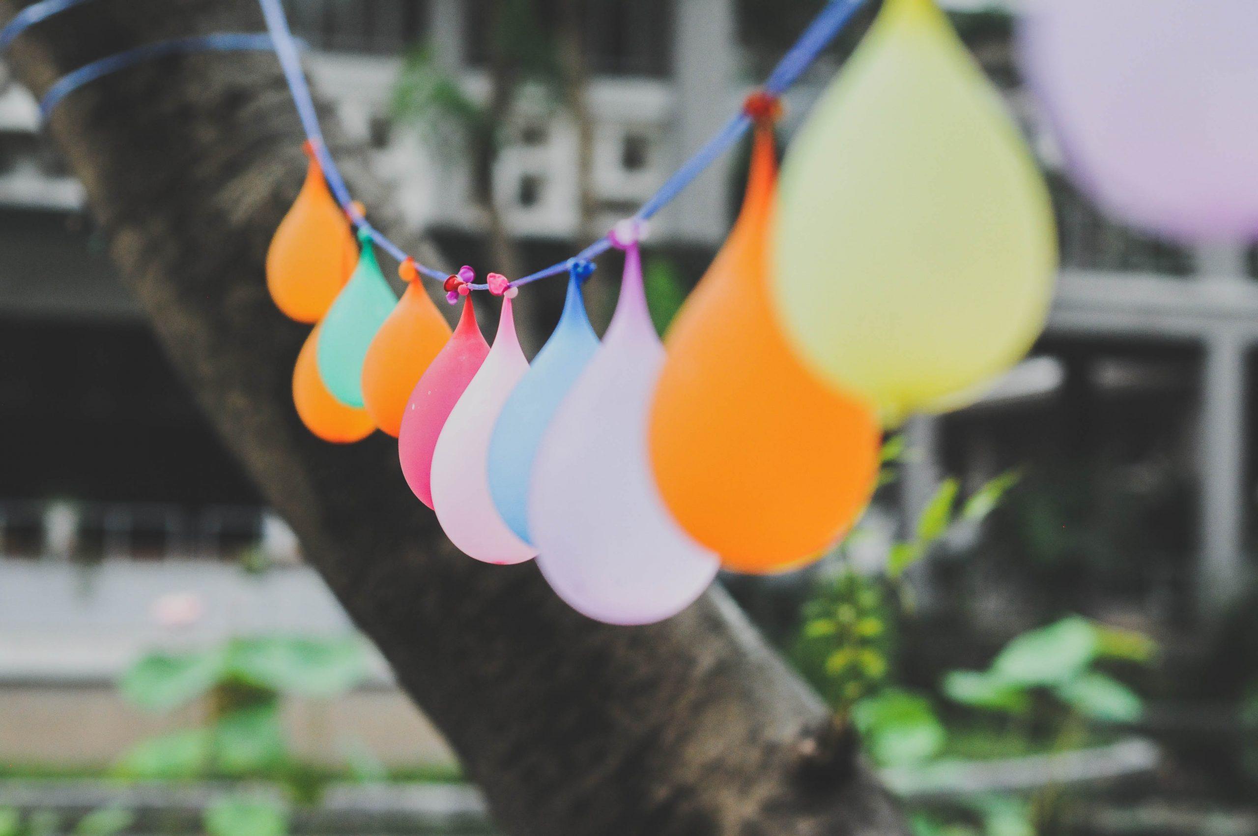 Ideas for a garden party
