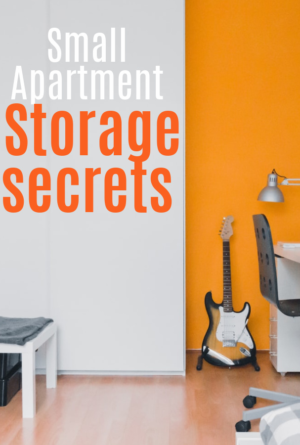 Storage secrets for small apartments