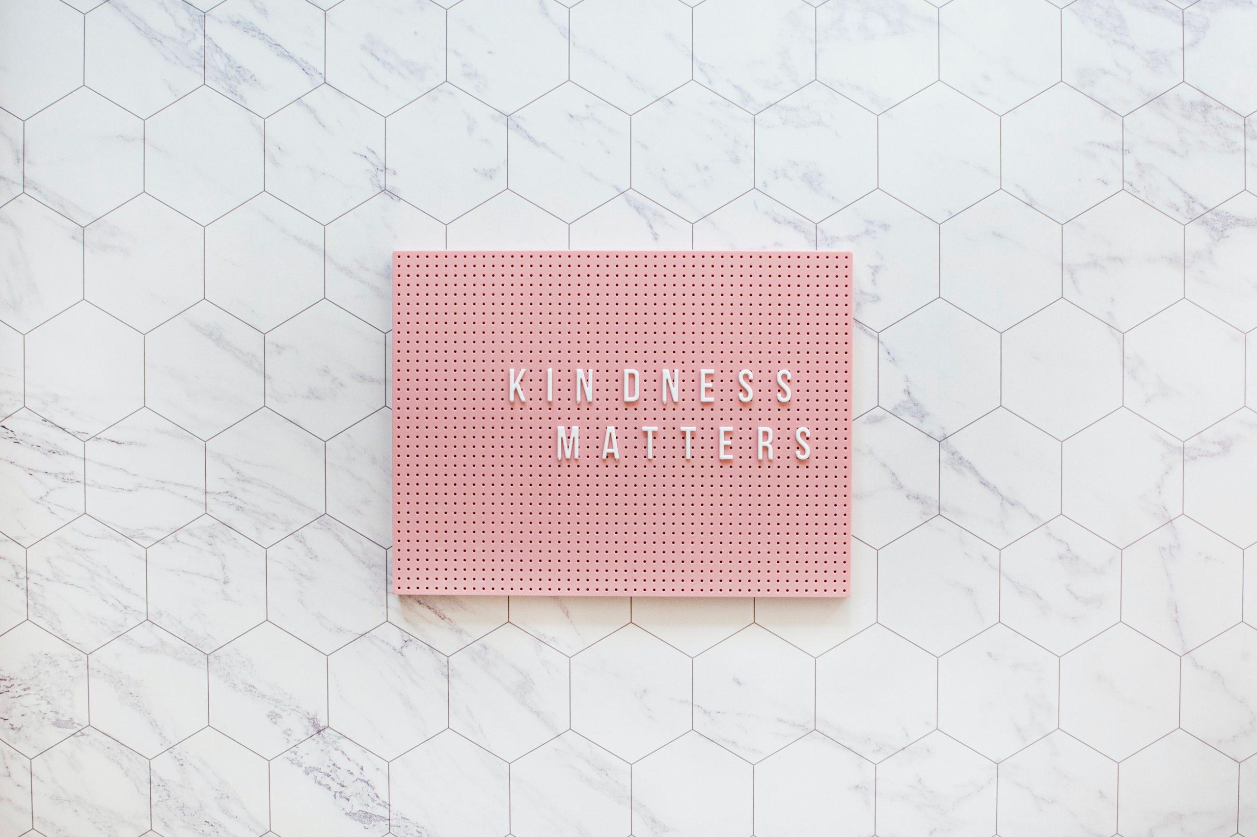 Choosing Kindness