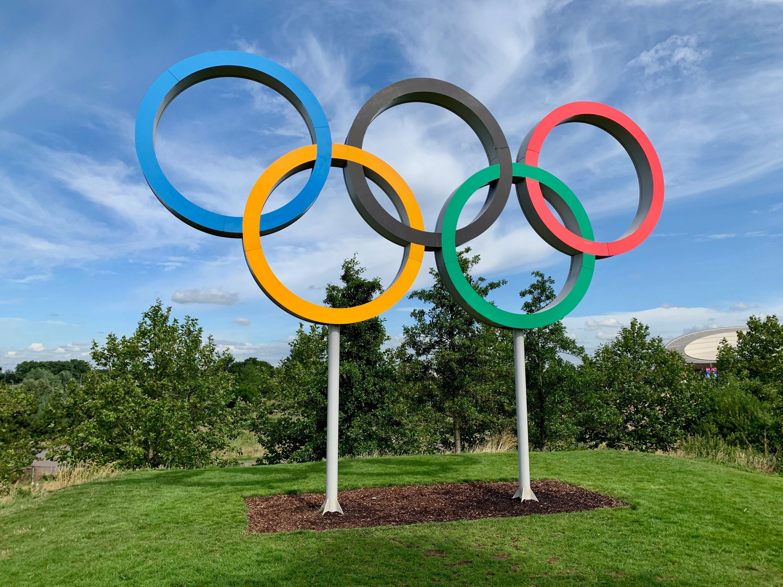 how to turn your garden into the Olympic games
