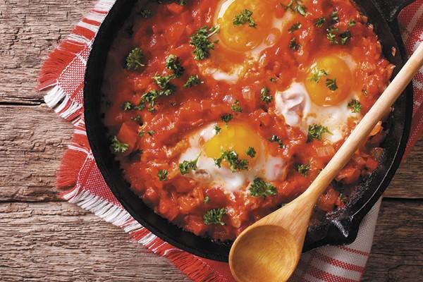 Vegetarian Shakshouka recipe