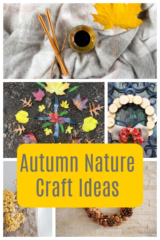 Autumn Nature Crafts